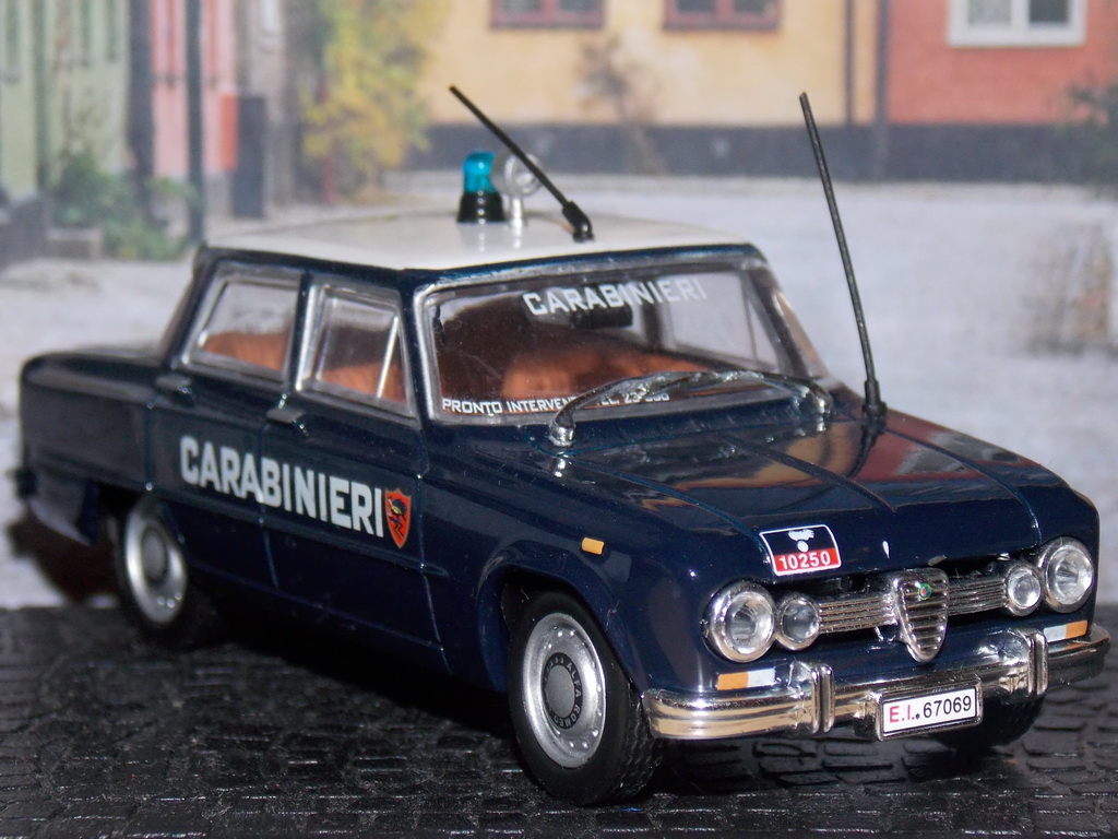 Alfa Romeo Giulia 1600 Super – Carabinieri – 1970