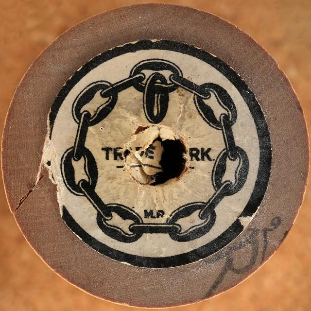 wood cotton reel