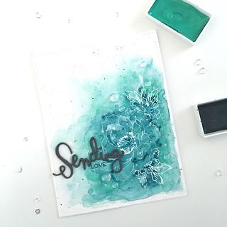 Sending love SSS altenew | by Kimberly Toney