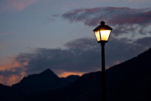 morning light sunset sky lamp clouds sunrise glow post photochallenge julychallenge photochallengeorg julychallenge2008