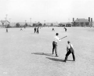 Baseball at B.F. Day Playfield, 1913