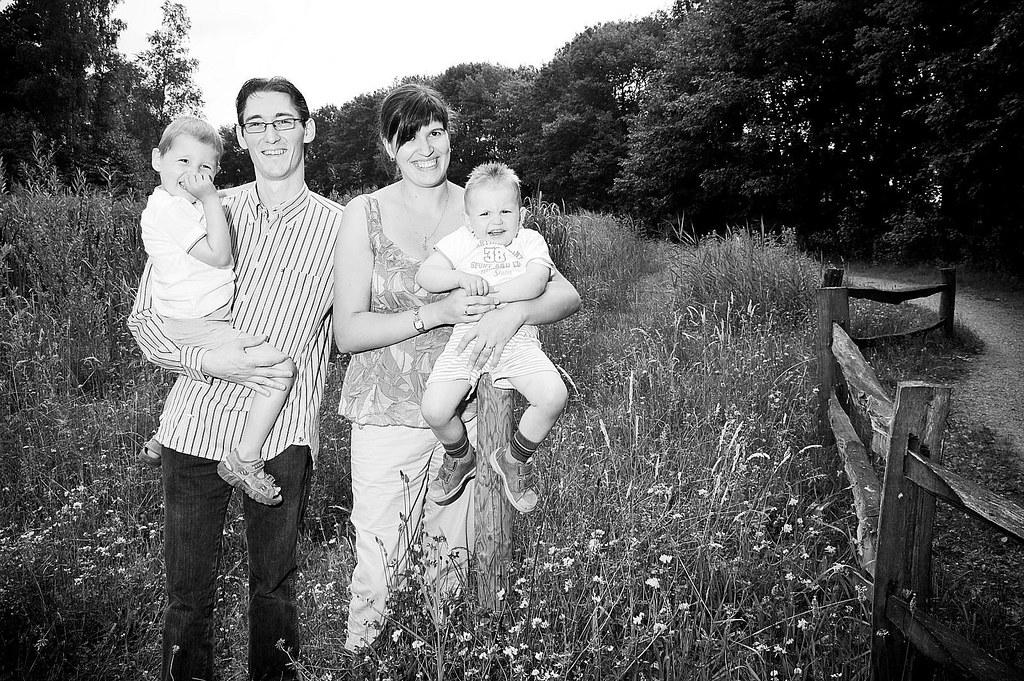 Familiefotos aan Dekshoevevijver | Fami Familiefotos van