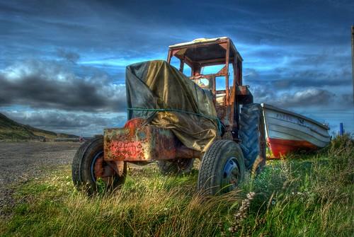 Beach tractor 2