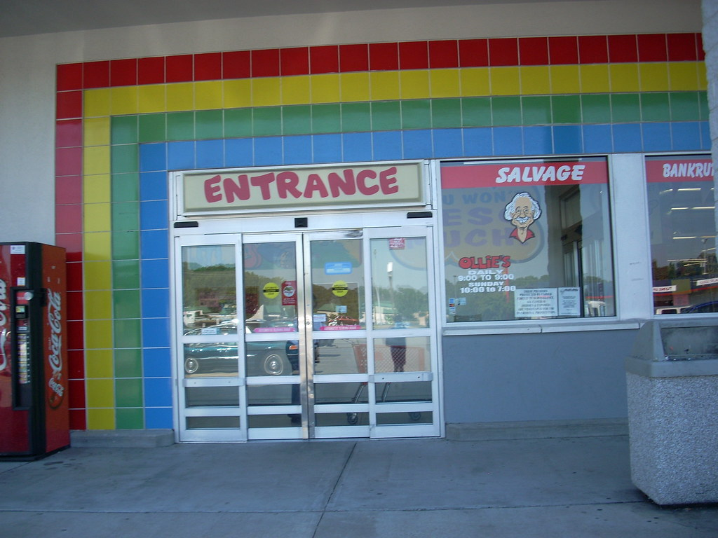 Ollie's Bargain Outlet entrance   by RetailByRyan95 Ollie's Bargain Outlet entrance   by RetailByRyan95
