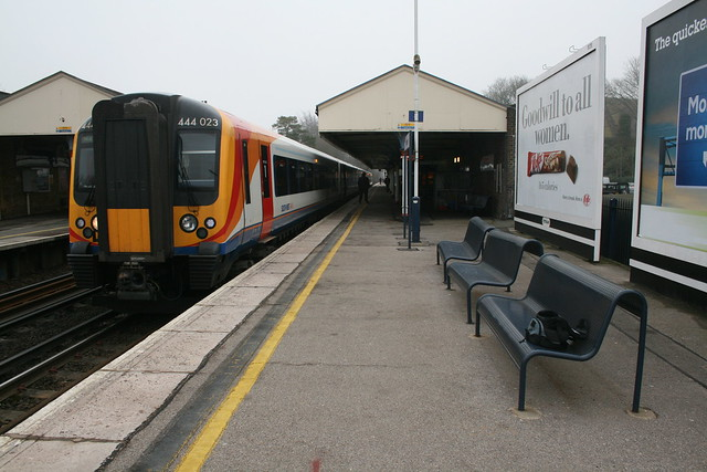 444 stands at Winchester