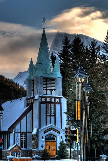 St. Paul's Presbyterian Church in Banff