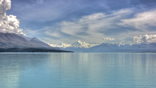 Mt Cook over Lake Pukaki | by anthonycramp