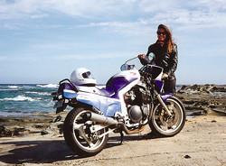 GSXR 1100 J 1988 - Bikini fairing | Maree down at the beach … | Flickr