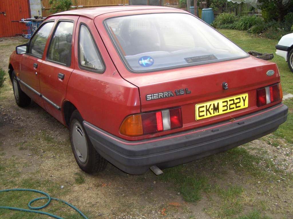 1983 Ford Sierra 1 6 L Can T Remember Where Or How But It Flickr