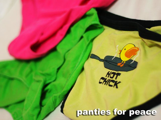 Panties For Peace Pic