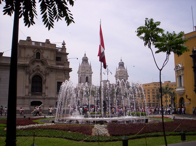 Lima: Plaza Francisco Pizarro
