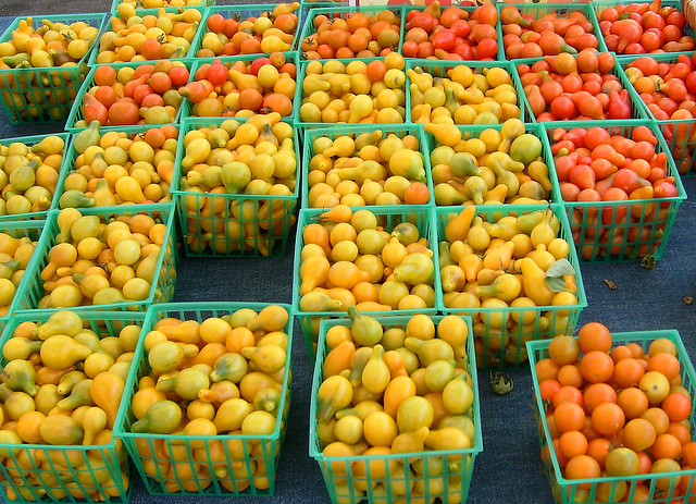 Grape Tomatoes at the Farmer's Market