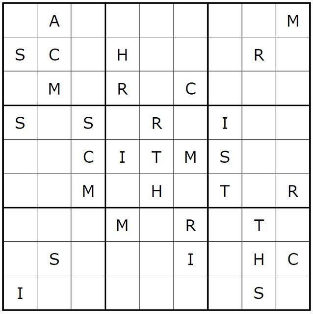 Christmas Sudoku.Christmas Sudoku Just Like One With Numbers But Every Box