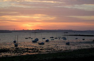 Sunset towards Roscoff | by Francis Shepherd