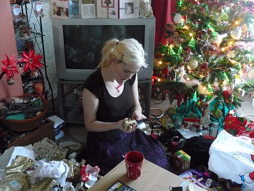 Becky opening presents | by Mike_fleming