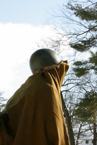 portrait pennsylvania gis wwii helmet battle ww2 soldiers uniforms 2009 reenactment kawkawpa worldwar2 battleofthebulge soldats fortindiantowngap img1597