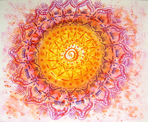 "Mandala for Faith | by Stephanie ""Biffybeans"" Smith"