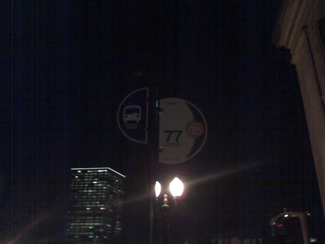 Line 77 stop