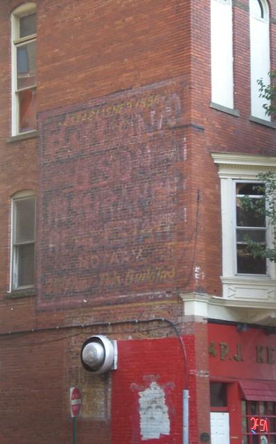 Clarksburg Ghost Sign