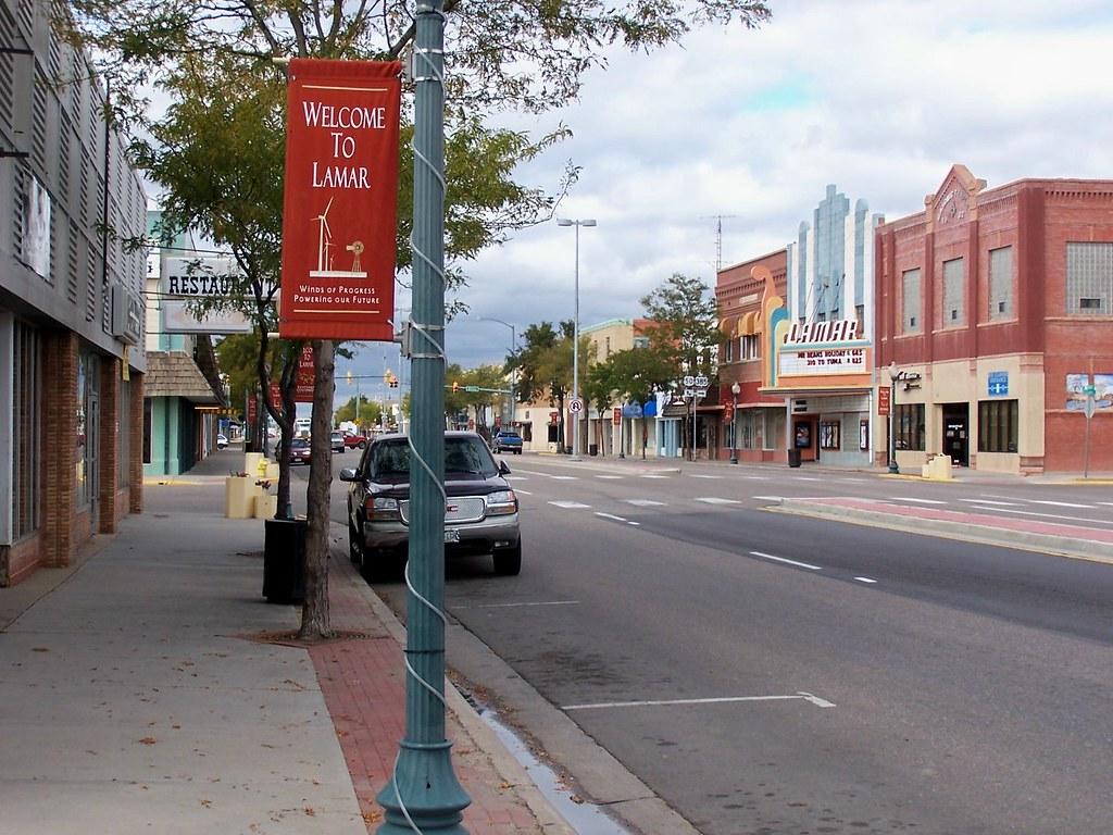 Beautiful Downtown Lamar, Colorado | Main Street, Lamar ...