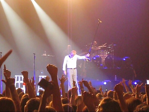 Backstreet Boys Concert - And The Crowd Sings Along