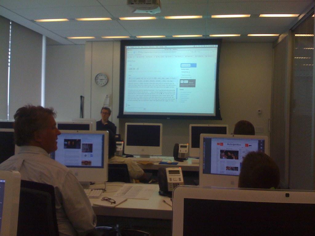 Blogs training