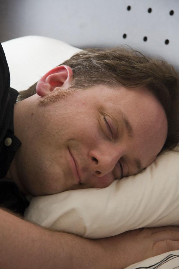 """Me """"sleeping"""""""