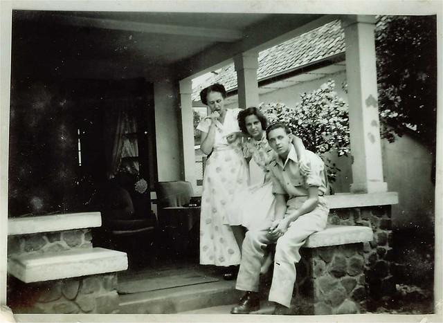 Willy van Bergen, Batavia (Jakarta) 1949-1950
