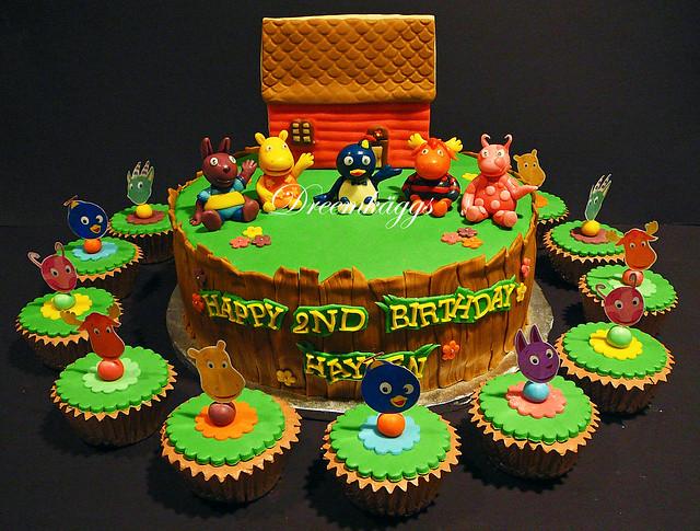 Hayden's Backyardigans Birthday Cake