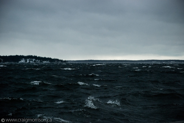 Cold Wavy Waters