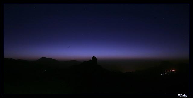Noche en Tejeda
