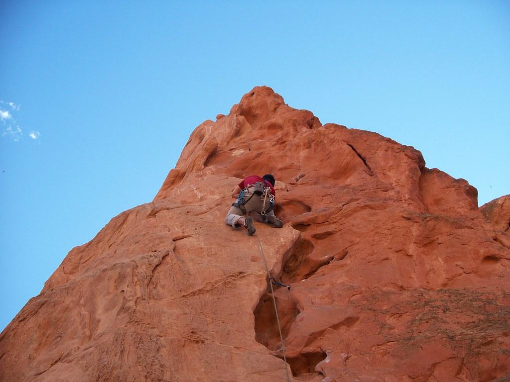 Rock climbing garden of the gods jewel b flickr - Garden of the gods rock climbing ...