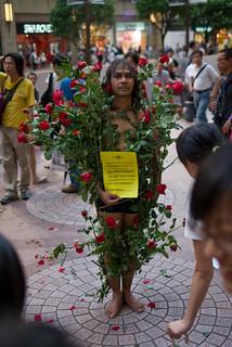 June 4th performances at Times Square, Hong Kong   by immu