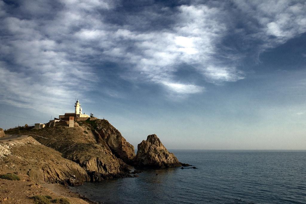Resultado de imagen de Faro del Cabo de Gata