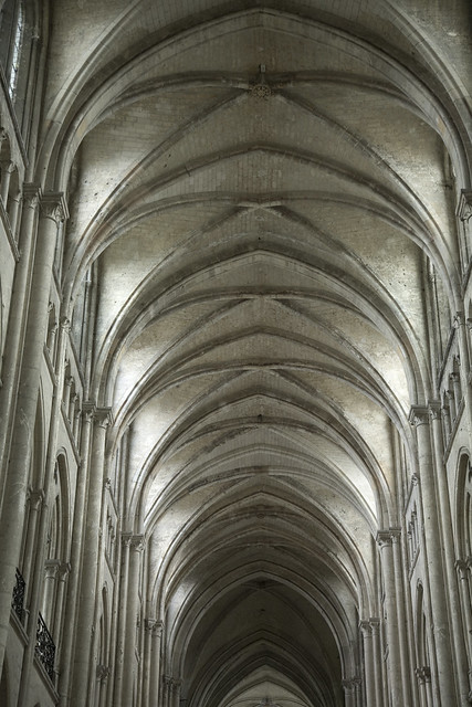 Noyon Cathedral Vaults