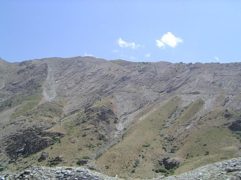 Iran - mountains near Karaj 2
