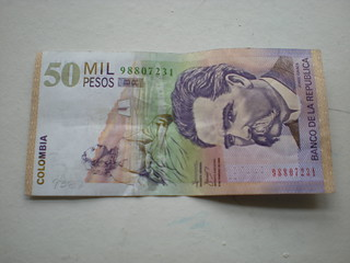 $50.000 Colombian Pesos | by tsfisher