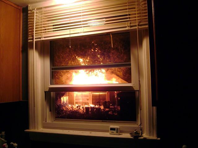 Burning Garage 2