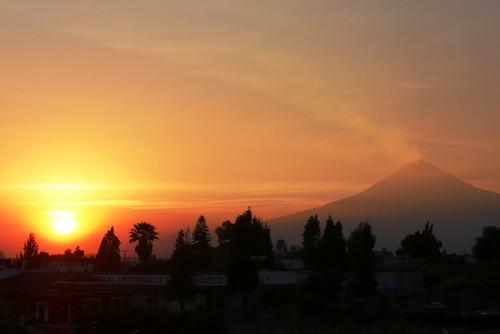 Puebla - Cholula, sol y Don Goyo
