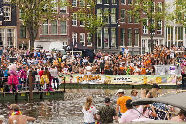 Canal Gay Parade Amsterdam. August 5, 2017. No. 331.