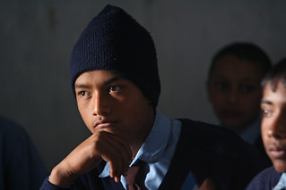 Students Shreeshitalacom Lower Secondary School. Kaski, Nepal | by World Bank Photo Collection