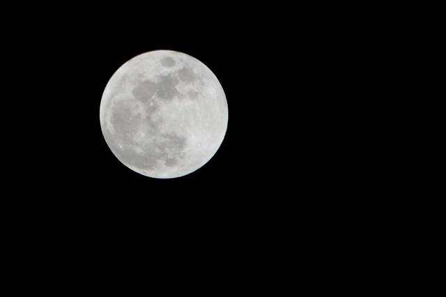 Full Moon Before Lunar Eclipse
