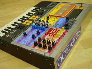 Modular Casio SK-5 Bent by Oceanus, the Vince Clarke Machine   by MATRIXSYNTH