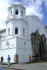 Santa Domingo Church in Popayan, Colombia