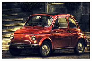 Fiat 500 Vintage HDR | by Sabrina Campagna Live Music Photographer