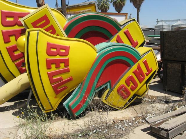 Taco Bell Sleeping Sombero Fresno,CA