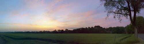 cameraphone italy autostitch panorama sunrise dawn nokia italia alba pano gimp panoramic campagna panoramica ferrara n73