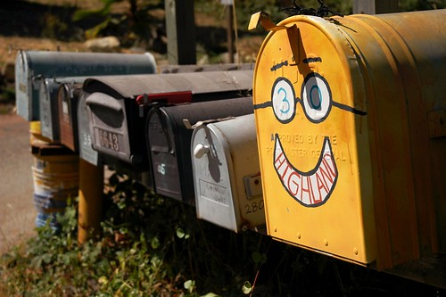 happy to receive mail | by Loving Earth