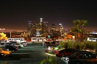 Los Angeles Skyline Dodger Stadium Sept 19 2008 | by jondoeforty1