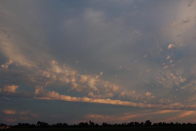 Sept 03 2008 - Thunderstorms a Brewin East of Kearney Nebraska